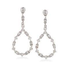 97f24fb75 Diamond Drop Earrings, Diamond Dangle Earrings | Ross-Simons