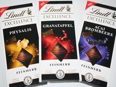 Lecker....   [Produktvorstellung] Lindt Excellence Schokoladen  Meinen Bericht dazu findet ihr hier:  http://www.tarisa.de/produktvorstellung-lindt-excellence-schokoladen/