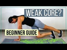 How to Strengthen a Weak Core! How to strengthen a weak core, and when to schedule your core strengthening exercises. Step by Step guide to help you get started with core strengthening and do it right to reduce lower back pain, and piriformis syndrome. Core Muscles, Back Muscles, Physical Fitness, Yoga Fitness, Men's Fitness, Muscle Fitness, Gain Muscle, Muscle Men, Build Muscle