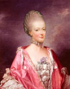 """Marie Antoinette - Queen of France"" Also Not Marie Antoinette is Elizabeth Gunning, Duchess of Hamilton."