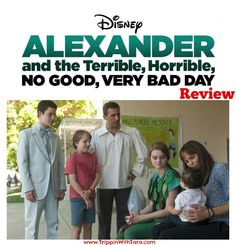 Alexander and the Terrible, Horrible, No Good, Very Bad Day Review #VeryBadDayEvent