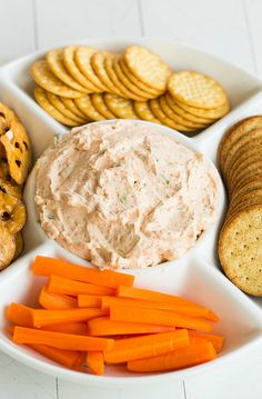 Sun-Dried Tomato Dip Recipe ~ A fabulous creamy dip loaded with pureed sun-dried tomatoes and green onions