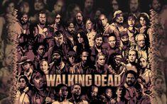 Wallpaper of The Walking Dead for fans of The Walking Dead.