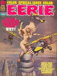 Eerie #81 - cover by Frank Frazetta