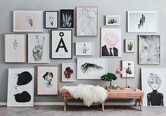 Wall deco design interior home Inspiration Wand, Interior Inspiration, Monday Inspiration, Interior Ideas, Interior Decorating, Decorating Ideas, Photowall Ideas, Deco Luminaire, Deco Design