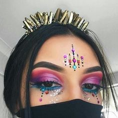 Creative Makeup Looks DIY Makeup ideas Makeup tutorial Makeup tips makeup & beauty makeup, nails, hair, skincare and fashion Makeup Inspo, Makeup Art, Makeup Inspiration, Makeup Tips, Beauty Makeup, Exotic Makeup, Makeup Style, Makeup Geek, Diy Makeup