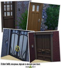 Around The Sims 4: Door bells • Sims 4 Downloads