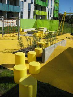cool yellow playground