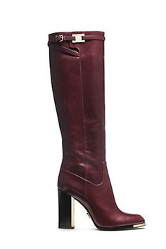 30 Tall Boots For Cool Fall Style - Ayakkabılar Brown High Heel Boots, High Leather Boots, Brown Boots, Knee High Boots, Heeled Boots, Bootie Boots, Long Boots, Tall Boots, Designer Boots