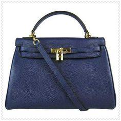 Hermes kelly bag, hermes kelly. Dark Blue Golden Hermes Kelly 32cm Bag $247.00