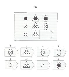 Test of abstract reasoning for measuring general