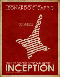 I love, love, love the minimal movie poster/book cover style that is running around the internet of late. Here's my go of it with Inception. Film Poster Design, Jazz Poster, Movie Poster Art, Blade Runner, Nolan Film, Doodle Art Drawing, Minimal Movie Posters, Poster Series, Alternative Movie Posters