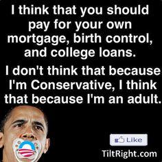 Liberal versus Conservative