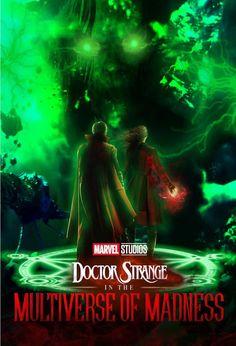 Doctor Strange in the Multiverse of Madness fan poster I made. Serie Marvel, Marvel E Dc, Marvel Comic Universe, Marvel Heroes, Marvel Cinematic Universe, Marvel Avengers, Doctor Strange, Marvel Characters, Marvel Movies