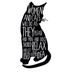 Women and Cats - Black Cat Quote Print Poster, Typographic Handwritten, art insp. Women and Cats – Black Cat Quote Print Poster, Typographic Handwritten, art inspirational 11 x Crazy Cat Lady, Crazy Cats, Black Cat Quotes, Gatos Cats, Photo Chat, Cat Posters, Man And Dog, All About Cats, Here Kitty Kitty