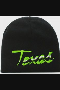 Shop USA Sports City State Cuffless Beanie Knit Hat Cap - Texas Black Green now save up 50% off, free shipping worldwide and free gift, Support wholesale quotation! Slouch Beanie, Beanie Hats, Light Up Hats, Usa Sports, Hat For Man, City State, Elastic Headbands, Winter Activities, Shop Usa