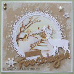 Trijntjes Kaarten: kerstkaart week 33