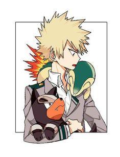 Bakugou Katsuki [Boku no Hero Academia & Pokemon Cross-Over]