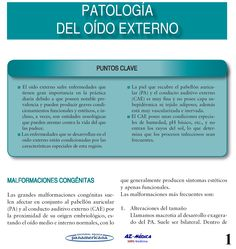 Patología del Oído Externo  #Otorrinolaringologia #ORL #Patologia #OidoExterno #AZMedica #Medicina