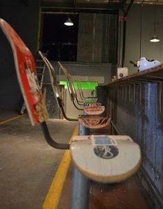 Super chaises de bar en #skate #DIY