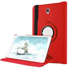 Case PU Leather For Samsung Galaxy Tab A 8.0 2017 T380 T385 Cover For SM-T380 SM-T385 8.0 Inch Tablet 360 Degree Rotating Funda Samsung Cases, Samsung Galaxy, Pu Leather, Phone, Cover, Telephone, Mobile Phones