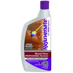 Rejuvenate 32 oz. Professional High Gloss Wood Floor Restorer-RJ32PROFG at The Home Depot