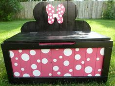 Toy Box by BorderTownDesigns on Etsy