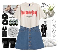 """""""biebs in the trap."""" by zorionxx ❤ liked on Polyvore featuring Puma, Justin Bieber, Jura, Cleanse by Lauren Napier, M&Co, Monki, ASOS and Miss Selfridge"""