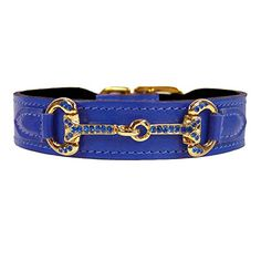 Hartman  Rose Horse and Hound Dog Collar 10 to 12Inch Cobalt Blue * You can find more details by visiting the image link. (This is an affiliate link) #DogCollars