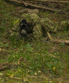 The UF PRO® Silent Warrior Sniper Smock in PenCott GreenZone