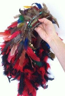 Pas à pas: Réalisation d'une coiffe indienne à plumes (En anglais) Step-by-step…