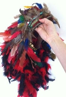 Pas à pas: Réalisation d'une coiffe indienne à plumes (En anglais)  Step-by-step Feather Headdress (in English)