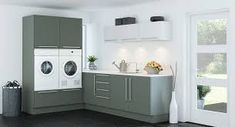 Image result for vaskerom Stacked Washer Dryer, Washer And Dryer, Laundry Room, Home Appliances, Interior, Ballet Flats, Image, House Appliances, Ballet Shoes