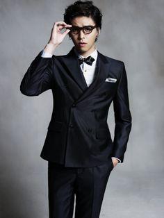 Lee Jang Woo - Nerdy Look
