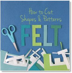 How to Cut Felt the Easy Way (Pssst.freezer paper is the trick!) {Benzie Design} How to Cut Felt the Easy Way (Pssst.freezer paper is the trick! Felt Diy, Felt Crafts, Mummy Crafts, Fleece Crafts, Fabric Crafts, Felt Stories, Felt Board Stories, Flannel Board Stories, Felt Letters