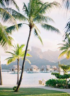 Gorgeous honeymoon in Bora Bora: Photography: Jose Villa - http://josevilla.com/