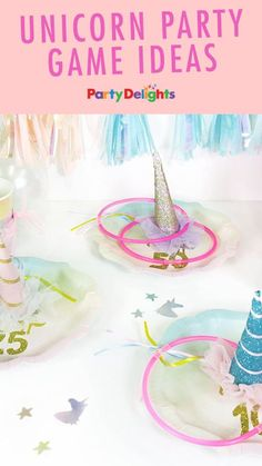 If you're planning a unicorn birthday party, check out our collection of unicorn party ideas for fun ways to keep your guests entertained!