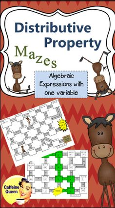 These distributive property mazes are a fun way for students to practice.  All students are successful, so confidence soars!