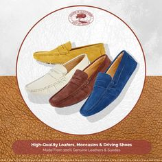 6385a67abe9 Driving Moccasins – The Ultimate In Trendy Men s Footwear
