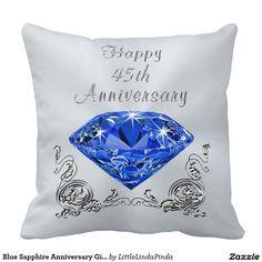 ... Anniversary gifts, Wedding anniversary gifts and Sapphire wedding