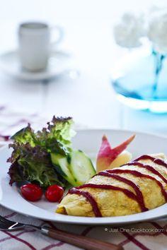 Omurice | Japanese Omelette Rice @Sunil Mehra One Cookbook.com
