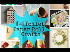toilet paper roll crafts - Google-haku