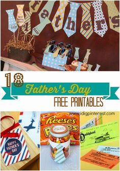 18 Father's Day Free Printables for the perfect gifts!