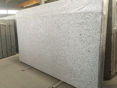 White pearl granite hydro with brush finish