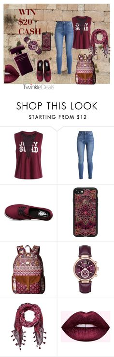 """win $ 20 cah"" by angela-villano ❤ liked on Polyvore featuring Vans, Casetify, Roxy, Michael Kors and Narciso Rodriguez"