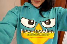 i love hoodies