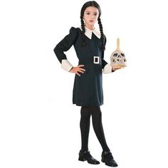 The Addams Family Wednesday Child Costume