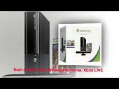 Xbox 360 4gb Kinect Holiday Bundle with 3 Games + Forza Horizons, Kinect Sports & Adventures