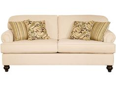 Shop for the Belfort Essentials Sterling Traditional Sofa With Rolled Arms at Belfort Furniture - Your Washington DC, Northern Virginia, Maryland and Fairfax VA Furniture & Mattress Store Traditional Sofa, Traditional Furniture, Home Living Room, Living Room Furniture, Home Theater Furniture, Belfort Furniture, Pallet Ideas Easy, Home Theater Seating, Room Planning