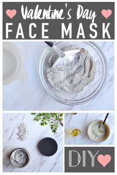 DIY Valentine's Day Face Mask